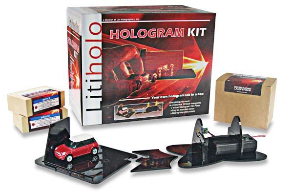New in the Maker Shed: DIY Hologram Kit
