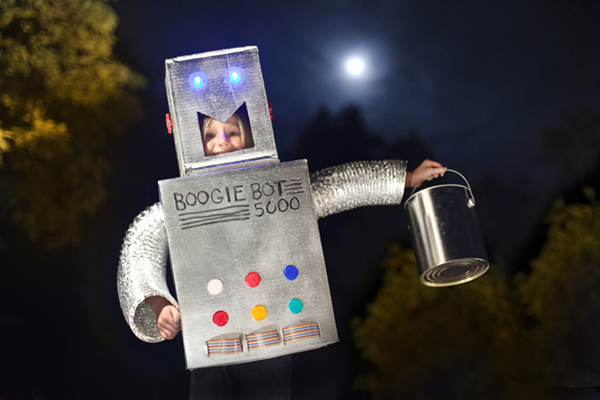 How-To: Make a BoogieBot Robot Costume
