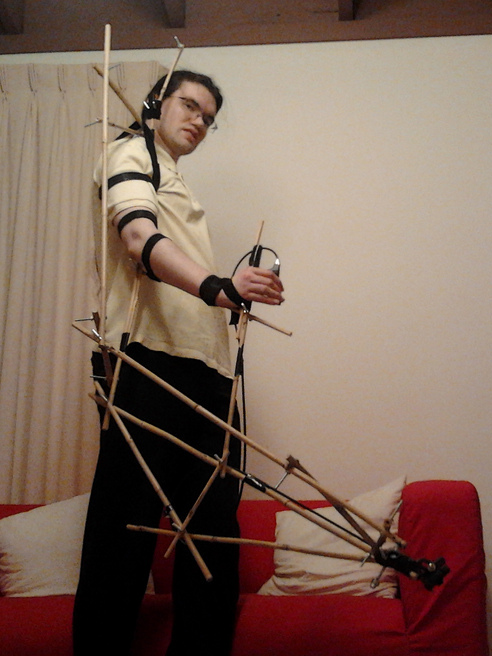 Bamboo Exoskeletal Arm