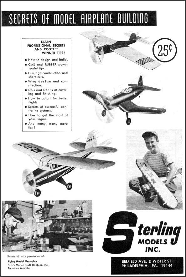 "Skill Builder: Model Plane Building ""Secrets"""