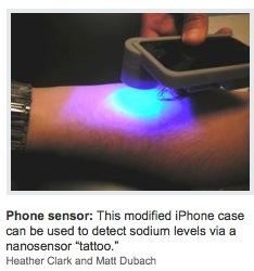 News From The Future: Tattoo Tracks Sodium And Glucose Via iPhone