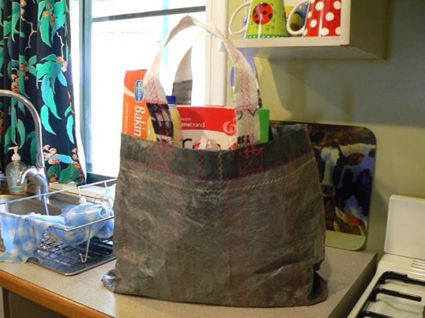 Tote from Trash Bag