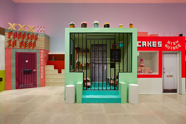 Artist Ana Serrano's Salon of Beauty Exhibit at Rice University