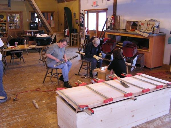 Coffin-Making Class
