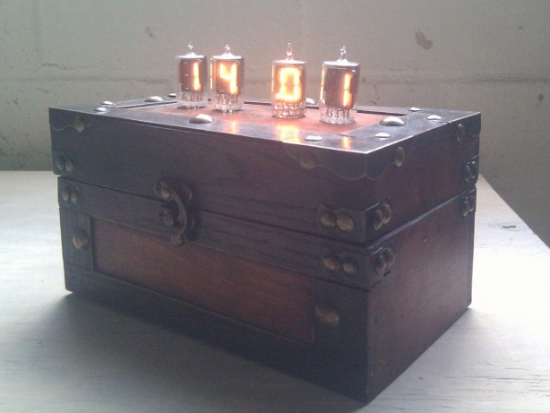 Flux Clockpacitor, a Nixie Clock