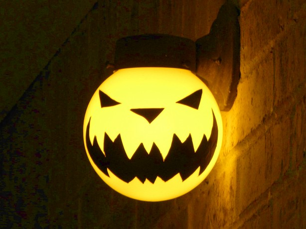 Porch Light Jack-o'-lantern