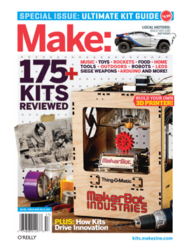 "Make: Ultimate Kit Guide 2012: ""Kits and Revolution"" Podcast"