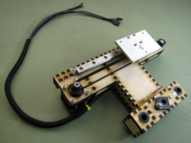 Building the MakerGear Mosaic 3D Printer – Part II: The Y-Axis