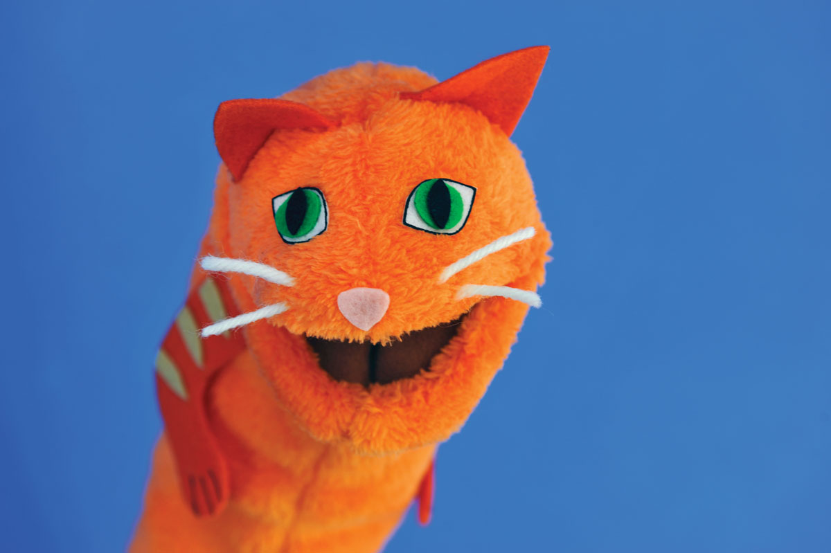 Make Your Own Cat Puppet