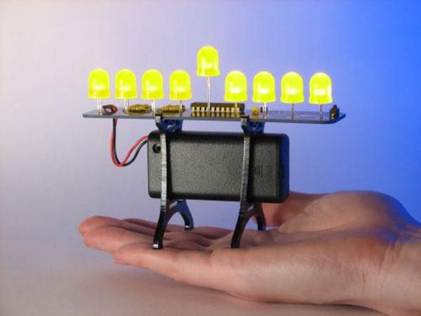 In the Maker Shed: LED Menorahs