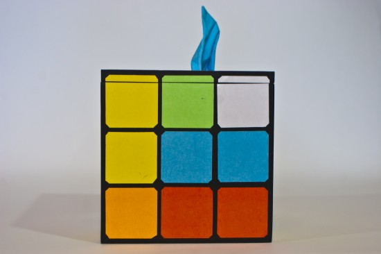 How-To: Rubik's Cube And Other Geeky Tissue Box Covers