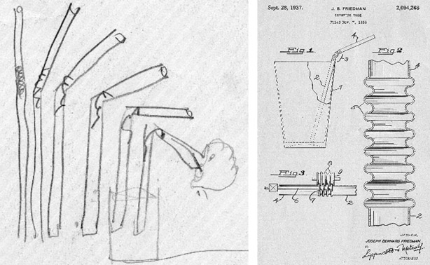 Origins of the Bendy Straw: From Napkin to Patent