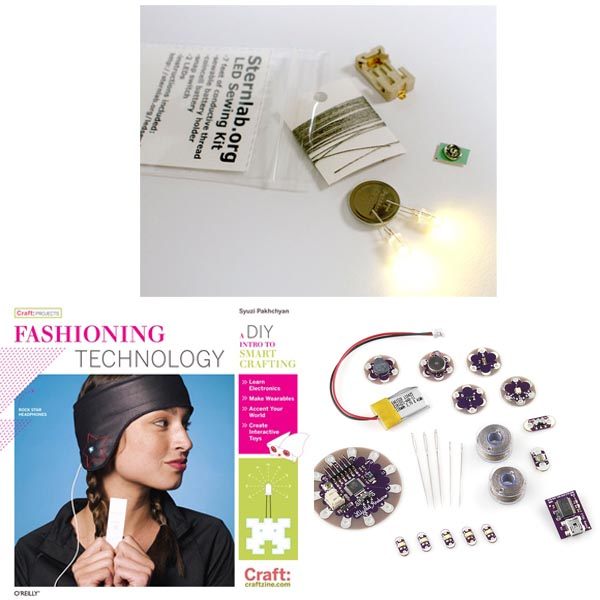 In the Maker Shed: E-Textiles Starter Kit