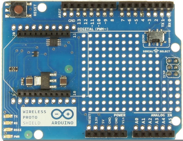 New in the Maker Shed: Arduino Wireless Proto Shield