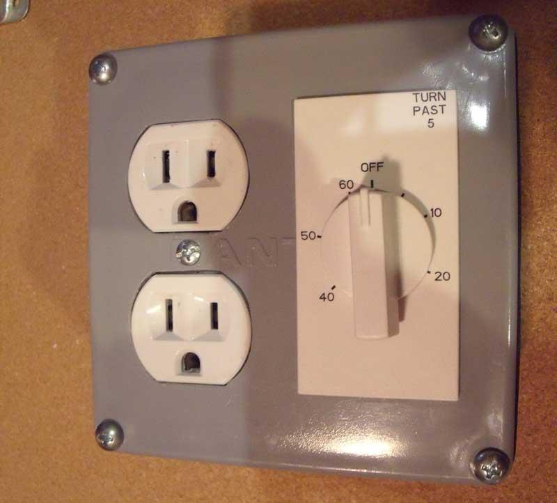 DIY Outlet Shutoff Timer