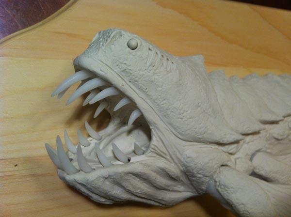 Skylanders Fish Sculpt