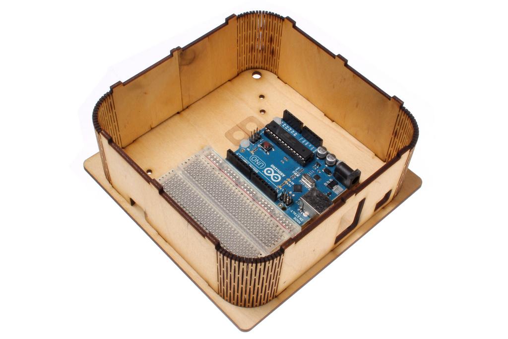 Bendy Corner Arduino Box