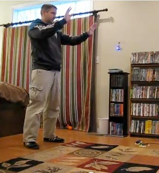 Kinect Gesture-Controlled RC Helicopter