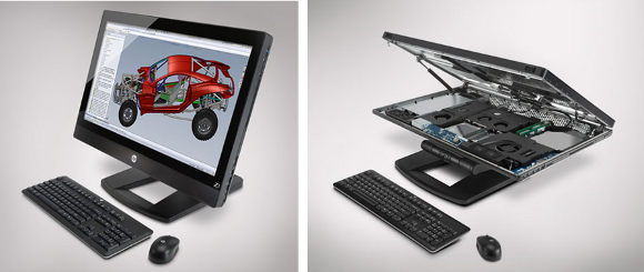 HP's User Serviceable All-in-One Workstation