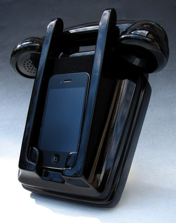 Wall Mount Retro iPhone Handset