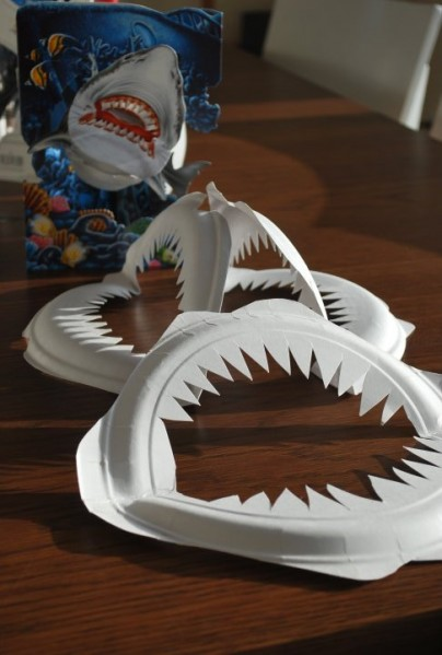 How-To: Paper Plate Shark Jaws