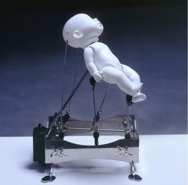 Ziwon Wang's Cybernetic Kinetic Sculptures