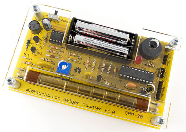 In the Maker Shed: Geiger Counter Kit