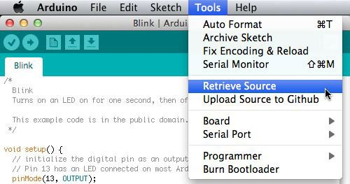 Arduino Is Its Own Source…