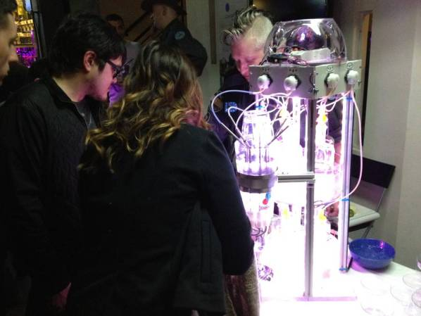 BarBot 2012 happy drinkers