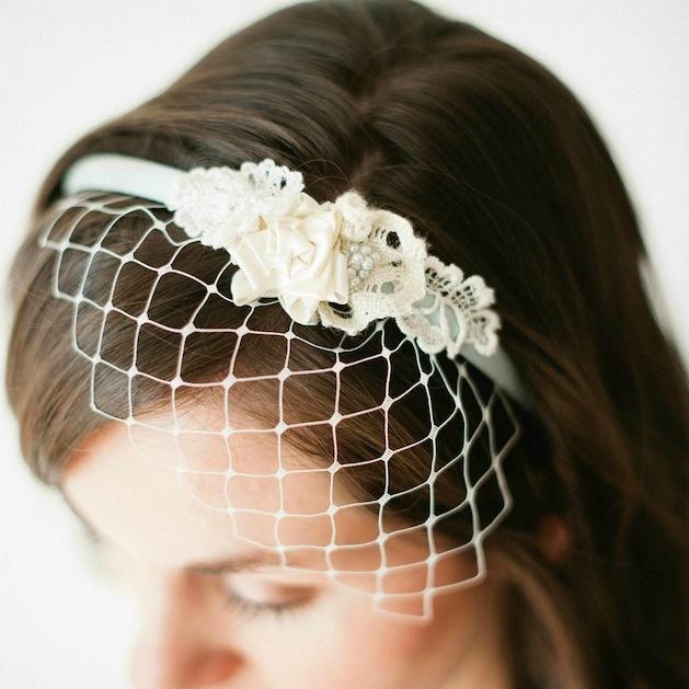 How-To: Birdcage Veil Headband