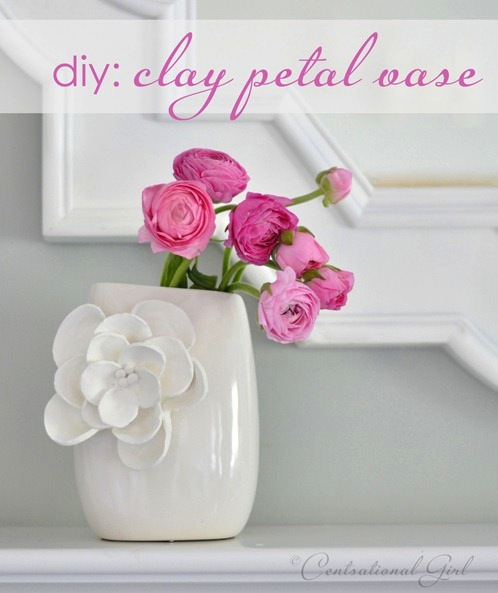 How-To: Clay Petal Vase