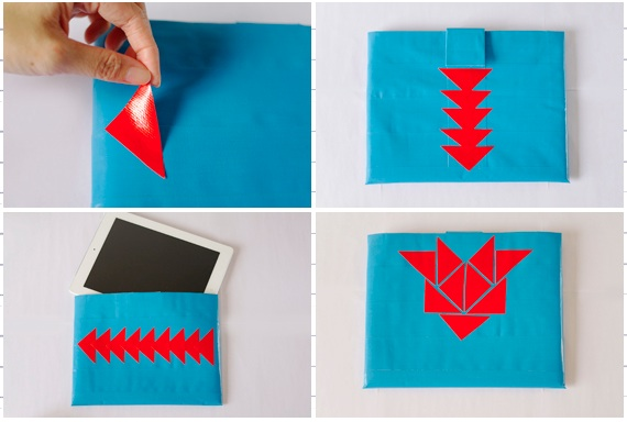 How-To: Duct Tape iPad Cover