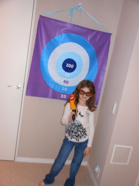 How-To: Felt Bullseye Target For Nerf Guns