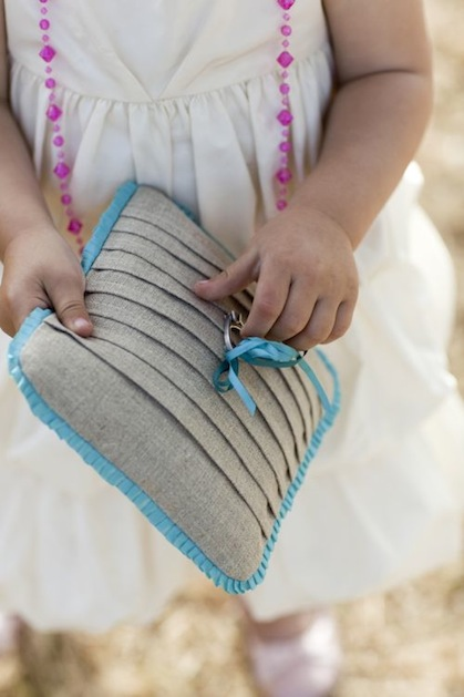 How-To: Pintuck Ring Bearer Pillow