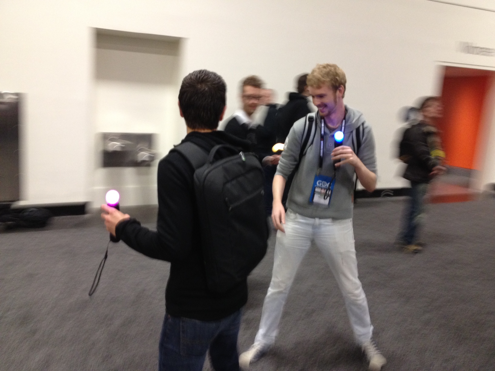Alt.GDC: Jousting with Move Controllers