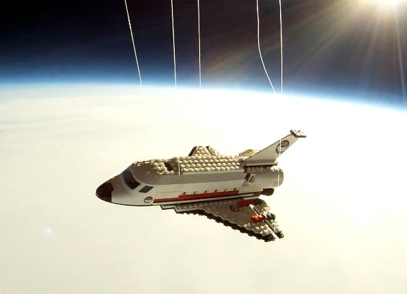 Romanian Teenager Puts Space Shuttle Back in Space