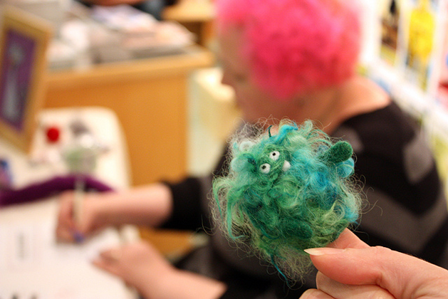 Open MAKE This Weekend: Needle Felting With Moxie, Henna With Darcy Vasudev