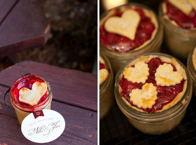 Pi-in-a-Jar Wedding Favors