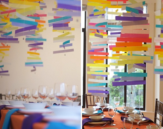 How-To: Color Mobiles for Modern Weddings