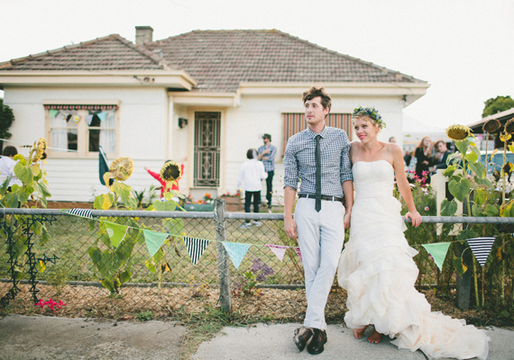 Quirky and Pretty Handmade Wedding