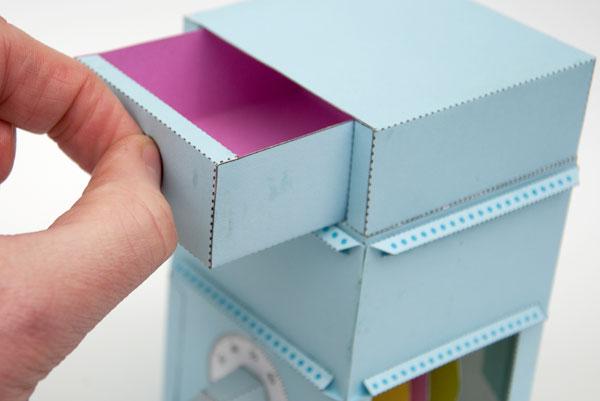 Papercraft Safe is Lockable, Clever, Fragile