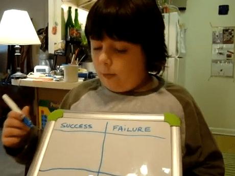 Seven-Year-Old Audri's Rube Goldberg Machine