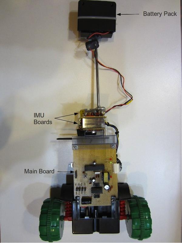 An Inexpensive Self-Balancing Robot