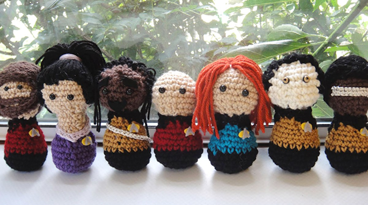 Free Star Trek: The Next Generation Captain Picard Amigurumi ... | 670x1200