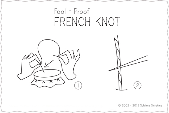 How-To: Make a French Knot