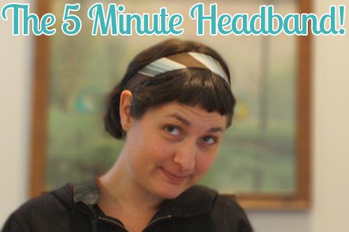 How-To: 5-Minute Headband
