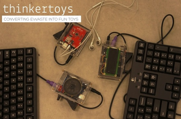Thinkertoys Turn E-Waste into Fun Gadgetry