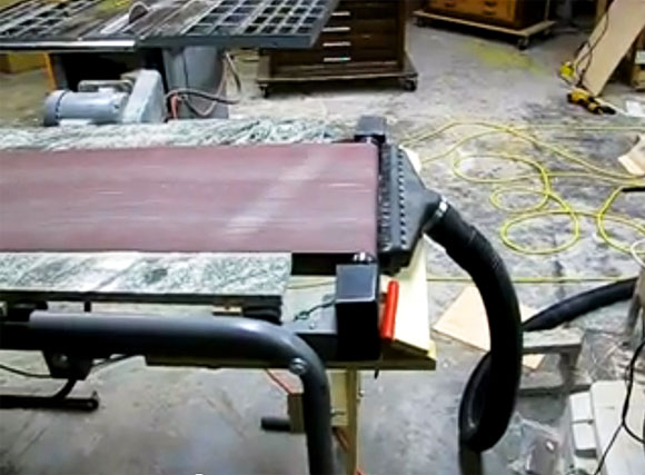 Treadmill Belt Sander – Smooth!