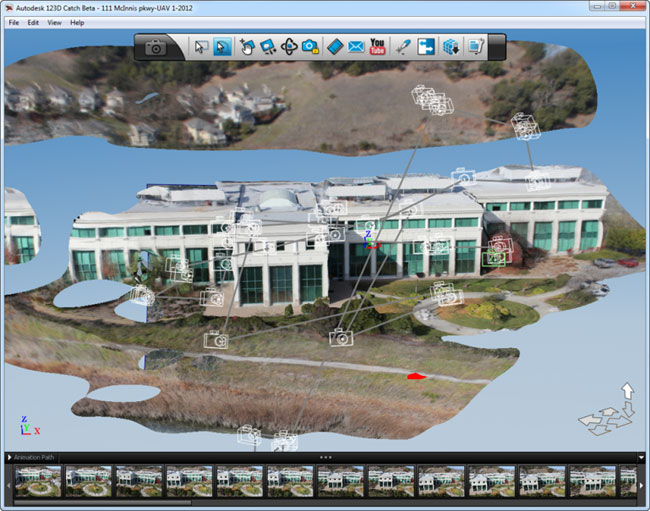 Create 3D Models of Buildings with a UAV