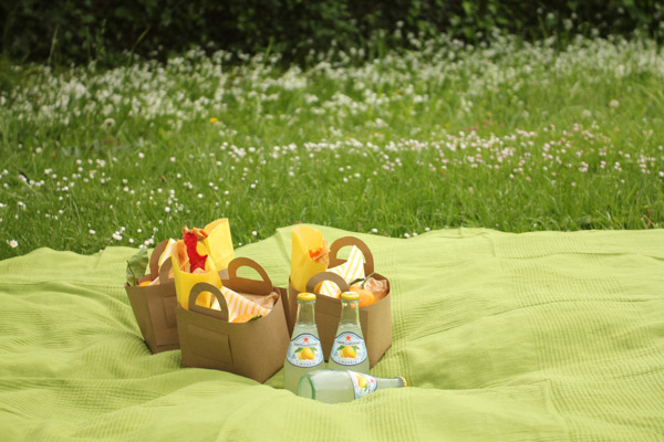 How-To: Butcher Paper Picnic Baskets